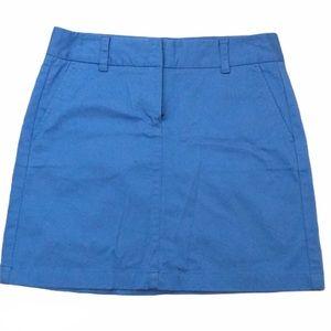 Vineyard Vines Blue Chino Skirt